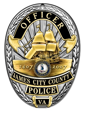 James City County Police Badge